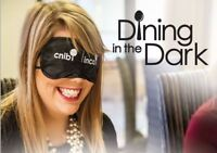 Volunteers wanted - CNIB Dining in the Dark Oakville Gala!