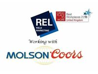 Molson Coors - Field Sales Manager - Gloucester
