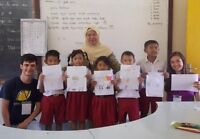 Teaching and renovating a school on Bali Island