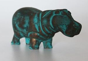 5-034-Egyptian-Artificial-Stone-Sculpture-of-Hippopotamus-Hand-Carved-1575