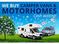 Wanted moter home campers caravans damp damaged mot no mot non runners will collect any where