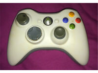 Xbox 360 Wireless controller black / white