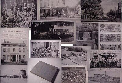 STRY. HACKETTSTOWN NJ 1754-1955 HISTORY morris Canal church school Railroad Bank