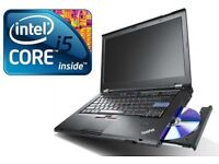 P FAST Lenovo ThinkPad T430 Core i5 8GB 180 SSD HDD Win 7 Laptop Webcam