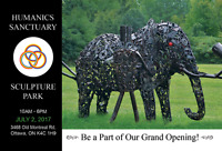 Humanics Sanctuary and Sculpture Park Grand Opening
