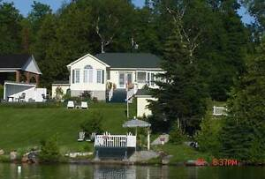 Cottage for rent on Blue Sea Lake