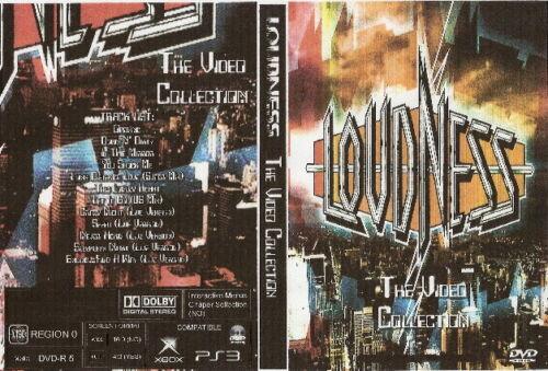 loudness the videos dvd 1988 akira takasaki van halen ozzy