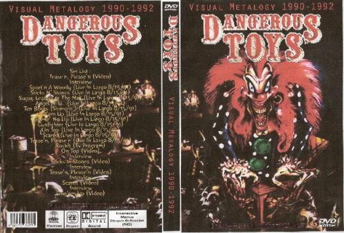 dangerous toys visual metology 1990-1992 dvd guns n roses ozzy dio