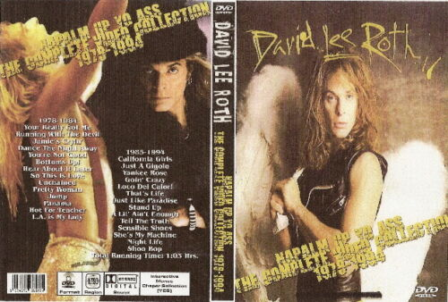 david lee roth the complete video collection dvd 1978-2004 van halen ozzy dio