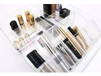 Acrylic Make up organizer / storage / drawer