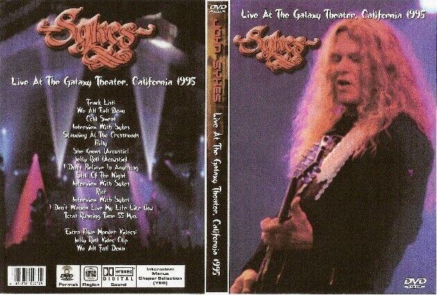 john sykes live in california dvd 1995 whitesnake blue murder