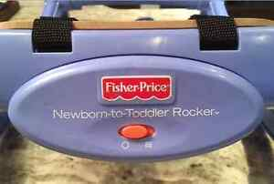 FISHER PRICE INFANT-TO-TODDLER PORTABLE ROCKER!! Peterborough Peterborough Area image 2