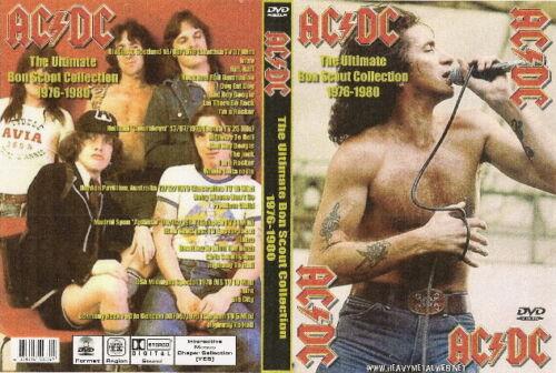 ac/dc the ultimate bon scott collection dvd 1976-1980  whitesnake ozzy dio