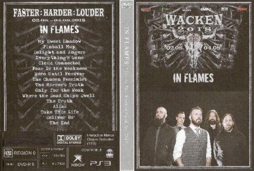 in flames live wacken germany dvd 2018 avenged sevenfold metallica