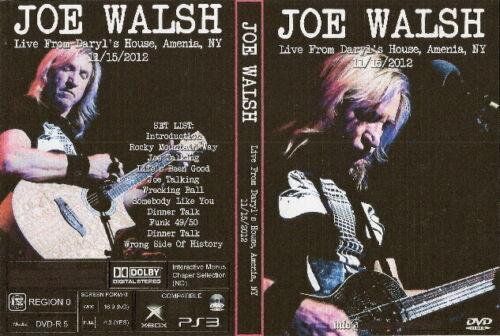joe walsh live at daryls house 2012 dvd  lynyrd skynyrd neil young
