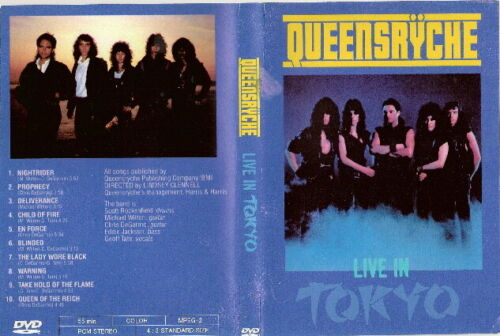 queensryche live in tokyo dvd 1984 ozzy soundgarden dream theater