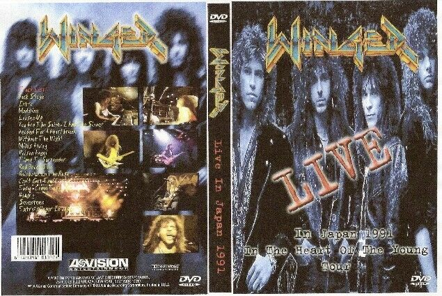 winger live in japan dvd 1991 ozzy warrant skid row dio