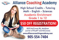 Alliance Academy Now Registering for High School Credits