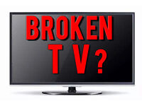 WANTED - faulty tvs PLASMA , LED , LCD