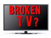 Looking for Broken TV 's - spares or repair