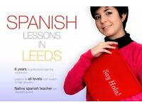 SPANISH LESSONS: 30 HOURS COURSES £15/h - Native Spanish Teacher-