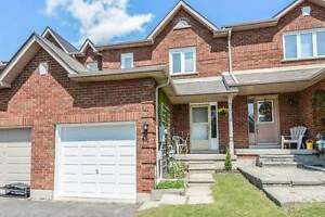 Beautiful 3 Bdrm Town Home Has Built-In Credenza In DiningWHITBY