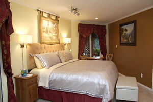 Oceanview King Suite in beautiful Pender Harbour