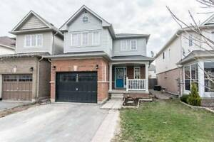 Beautiful 3 Bedroom Detached House in Bowmanville for Rent