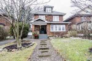 Solid Brick 1920'S Home (4 +1 Bed, 3 Bath, Fin. Bsmt w Sep Ent)