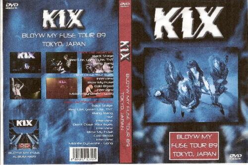 kix live in tokyo japan dvd 1989 ozzy white lion skid row