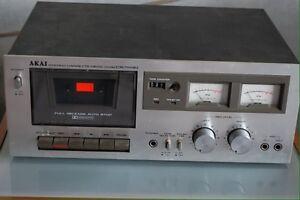 Tape cassette deck strereo Akai CS-703d