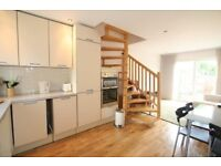 Bright, modern high spec fully furnished two storey 1 Bedroom house with garden, Bermondsey