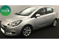 £133.87 PER MONTH SILVER 2015 VAUXHALL CORSA 1.2 SRI 5 DOOR PETROL MANUAL