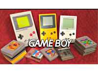 Wanted...gameboy consoles and games