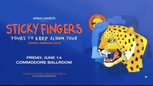 Sticky Fingers: Yours To Keep Album Tour