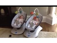 4moms rockaroo baby seats rockers 2 available excellent condition