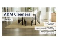 All types of Cleaning Services in all London areas!