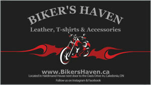 Biker's Haven now offers consignment clothing!