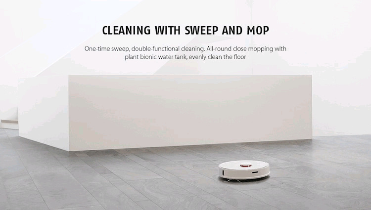 Xiaomi Mi Roborock S50 Smart Robot Vacuum Cleaner Global Version