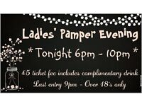 Ladies' Pamper evening AUGUST, ticket only, Twickenham