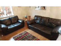 2 & 3 seater black leather sofas can deliver