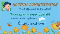 Garderie/Daycare Carrefour des Papillons Chomedey, Laval