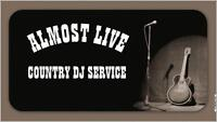 ~ALMOST LIVE~ COUNTRY DJ SERVICE