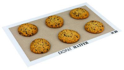 Matfer Bourgeat 321004 Exopat Non Stick 16-3/8 x 24-1/2 inch Baking Mat  Exopat Non-stick Baking Mat