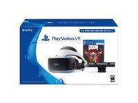 PlayStation VR V2 + Camera + 2 Games