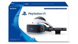 Playstation VR, Headset & camera