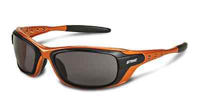 Stihl Copper Frame Sun & Safety Glasses with Smoke Lens 7010 884 0386