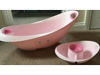 Mothercare Newborn Baby bath (top n tail set) £5