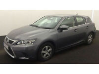Lexus CT S FROM £62 PER WEEK!