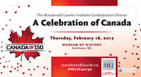 The Macdonald-Laurier Institute's Confederation Dinner